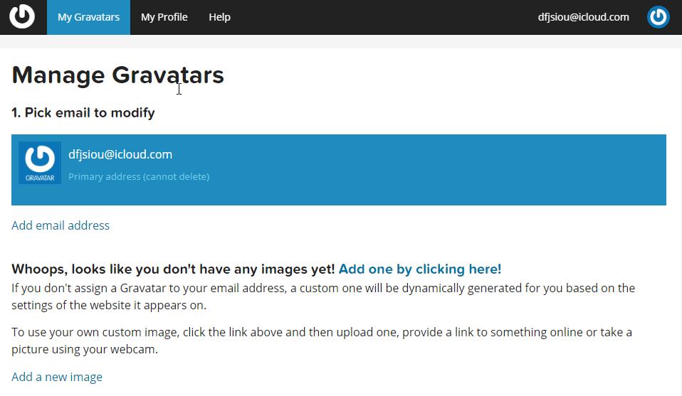 《如何做到输入邮箱就能在其他人的网站评论区显示头像》